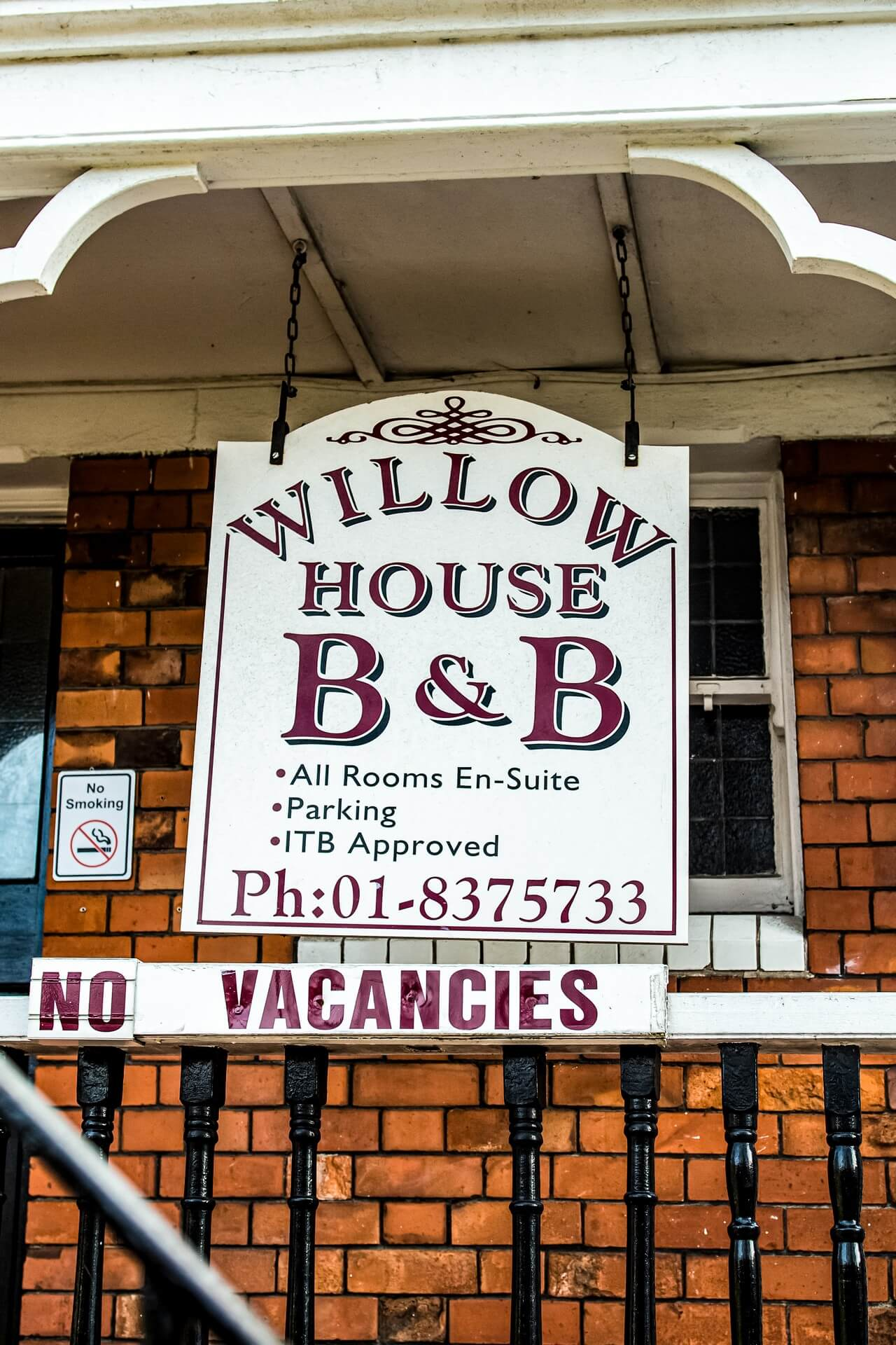 Willow House B&B Fire Rating